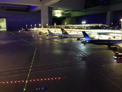Tarmac of the Hamburg Airport