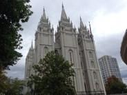 THE Mormon church in Salt Lake City, UT.