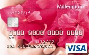 Karta kredytowa Millenium Impresja
