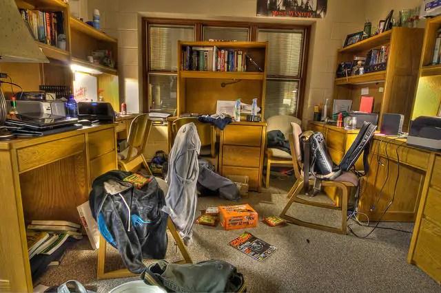 Jak wygląda typowy studencki pokój?