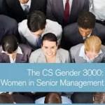 Wyniki badania CS Gender 3000: Women in Senior Management