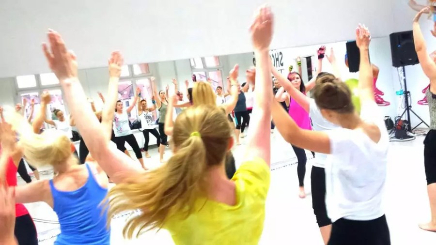 Lulu-Lemon Fitness Studio - zumba