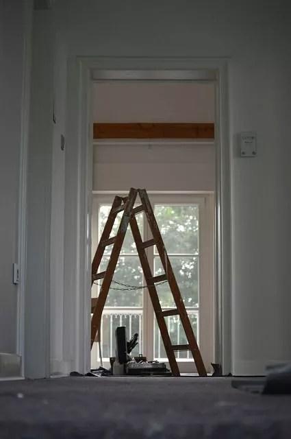 Mieszkanie podczas remontu