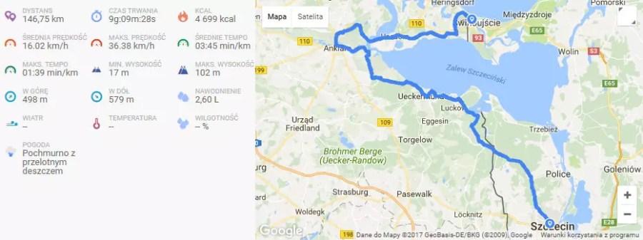 Wycieczka rowerowa Szczecin-winoujście