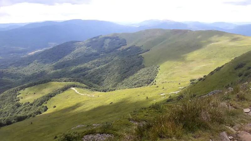 Tygodniowy pobyt w polskich górach.
