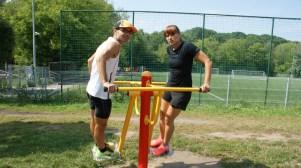 Ćwiczenia na otwartej siłowni