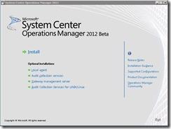 SCOM 2012 Beta installation–Step by Step guide (4/6)