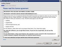 SCOM 2012 Beta installation–Step by Step guide (5/6)