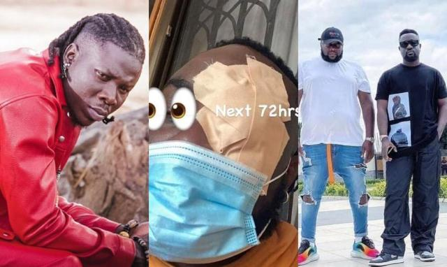 Dancehall lord Stonebwoy Apologizes To King Sarkodie's Manager For Attacking Him