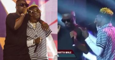 Watch Sarkodie And Shatta Wale's Performance At The BlackLove Virtual Concert