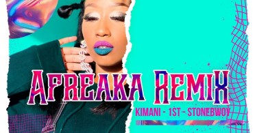 Victoria Kimani x FKI 1st Ft Stonebwoy - Afreaka (Remix) Lyrics