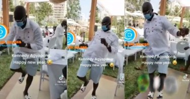 Honorable Kennedy Agyapong Displays His Stylist Street Dance Moves At A Party - Video