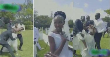 Shakilla Crashed Eric Omondi's wedding N Beats Him Up - Watch Video