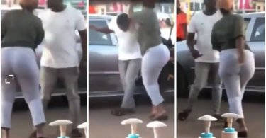 Wife Wrestle And Removed Alleged Side Chick Out Of Her Husband's Car - Video