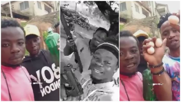 Gun Wielding Men Point Out - We Are Not Armed Robbers - Video