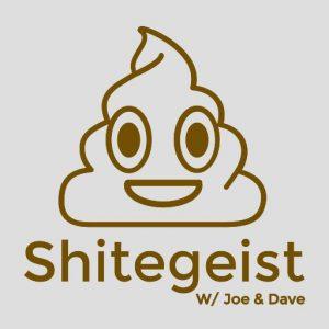 Shitegeist Logo on Flixwatcher Podcast