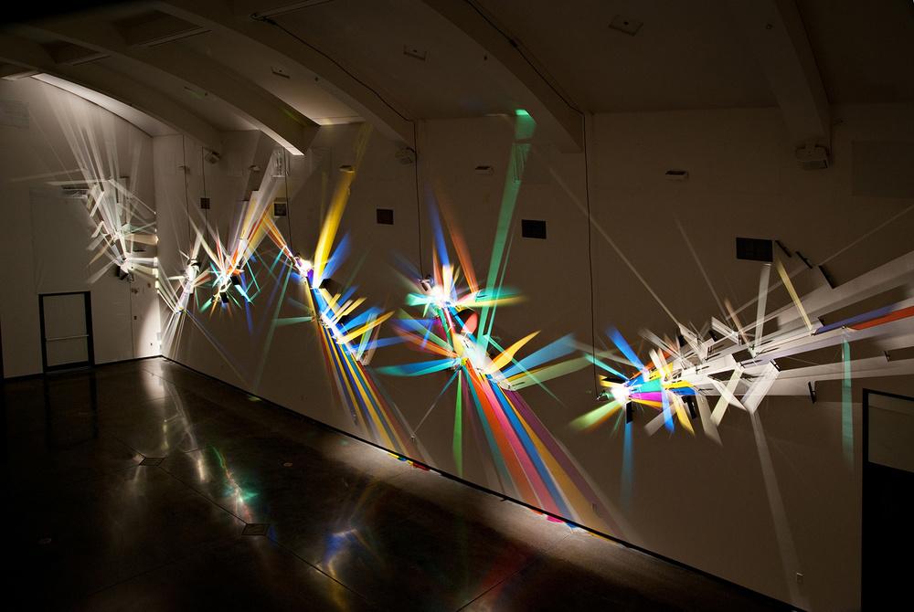 prismatic paintings from lighting by Stephen Knapp_kobi lighting studio 02