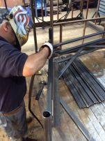 KO Fabricacióm de estructuras de acero diseñadas por Yto e Ytyo; Fabricadas por Ras Color