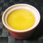 桃の缶詰のゼリー