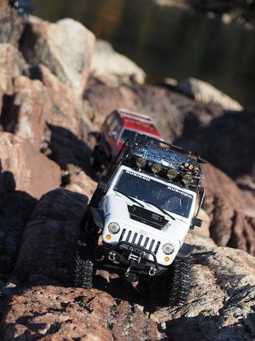 Axial Jeep