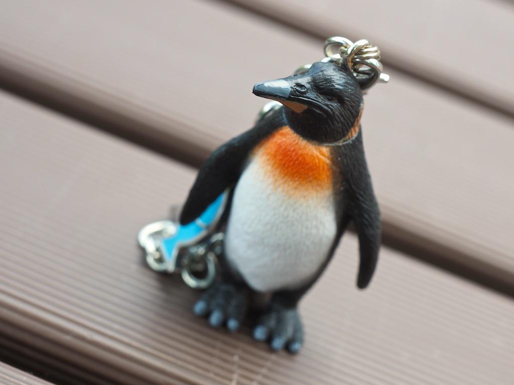 Penguin Bag Charm