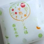 【養老軒】夏限定!2種類のメロンが入ったふるーつ大福