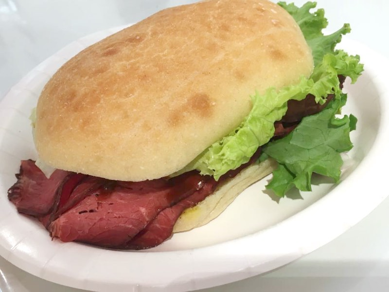 Costco Roast beef sandwich