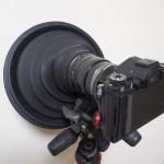 ガラス越しでも綺麗に撮れる!レンズフード「Ultimate Lens Hood」を購入しました
