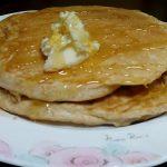 自家製天然酵母の厚焼きパンケーキの作り方・レシピ!