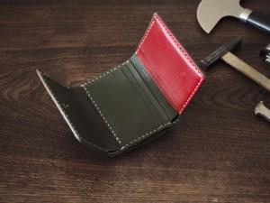 (フルオーダーメイド)パッチワーク三つ折り財布(内側)