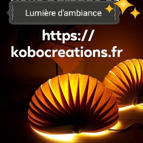 plusieurs lampes série Nautilo-lumière-douce -kobocreations