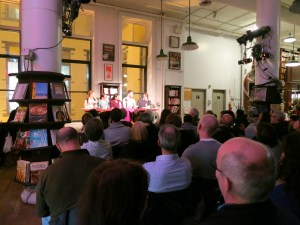 Nathaniel adds insights from his self-publishing experience to a KWL-sponsored panel at Housingworks Bookstore Cafe in New York.