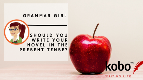 what tense to write a novel in