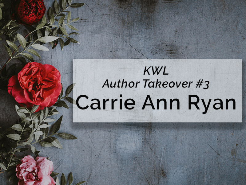 Carrie Ann Ryan is Taking Over!