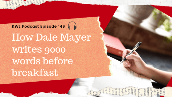 How Dale Mayer Writes 9000 Words Before Breakfast