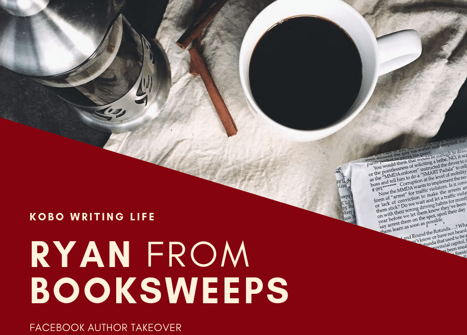 Facebook Live with Ryan from BookSweeps