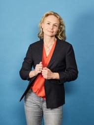la neurologue et écrivain Bretonne Sophie Tal Men, à Paris le 4 mai 2017