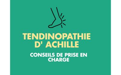 Conseils de management de Tendinopathie d'Achille