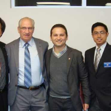 Worthy PSD Michael with GK Mark, brothers Joseph and Antonello, DGK Ed and DD Herb