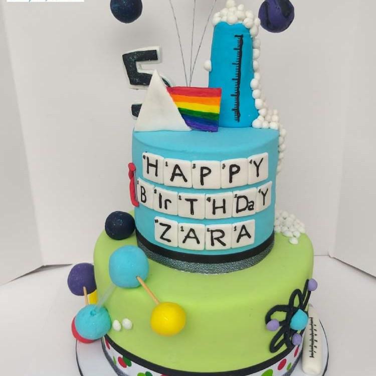 Scientists Birthday Cake