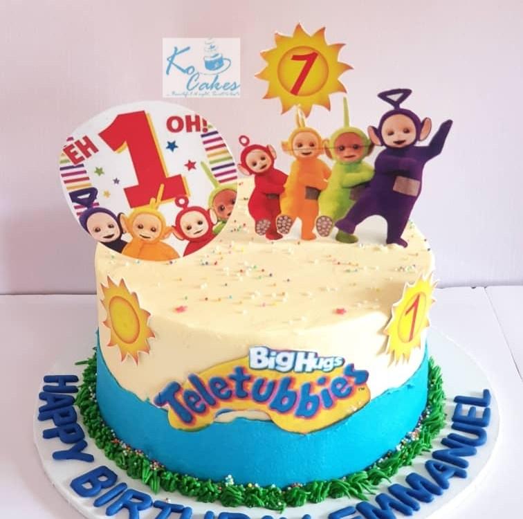 Teletube cake