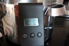 Temperaturüberwachung mit Termometer