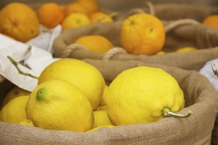 Zitronen vom Markt in Marokko