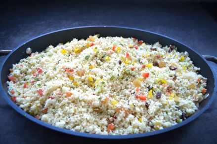 Taboule-Couscous-Salat