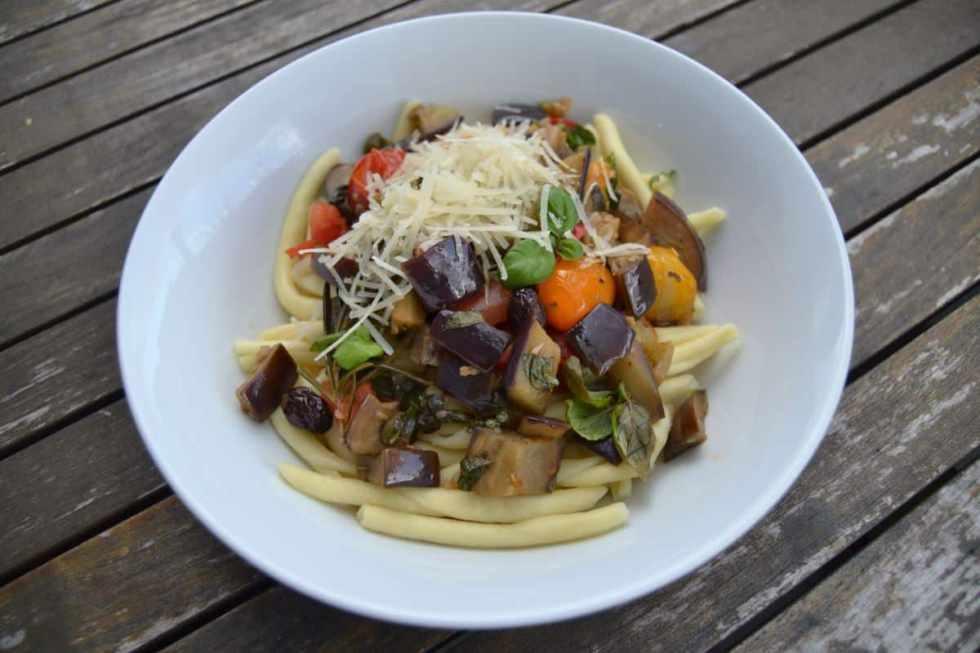Maccheroni al ferretto mit Tomaten kochen aus liebe
