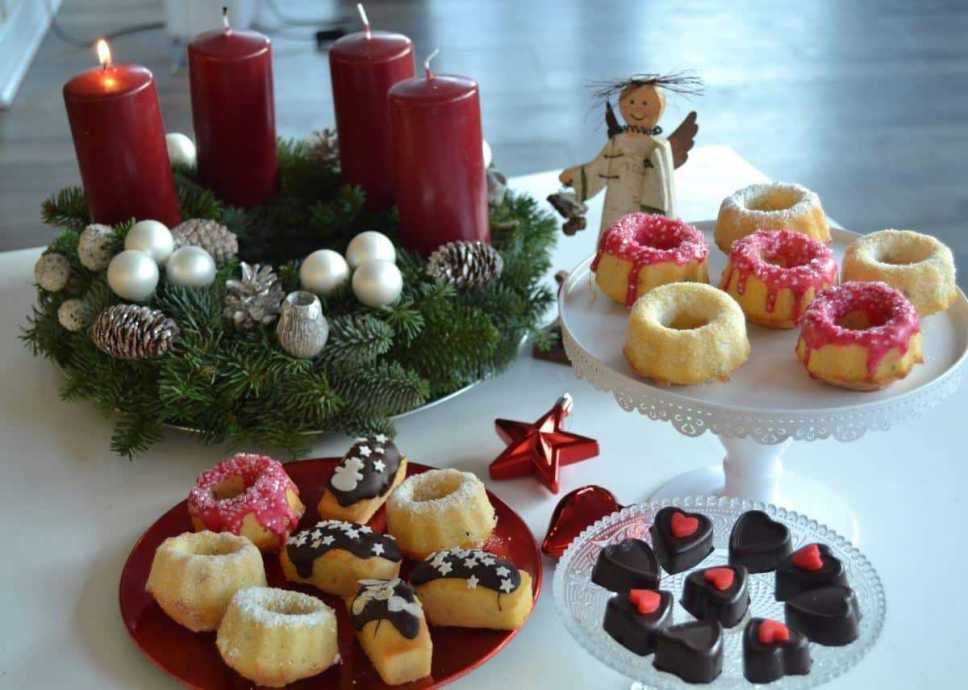 Mini Advent Gugelhupf