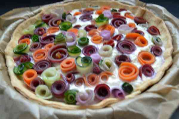 gemüse-rosen-tarte-mit-ricotta