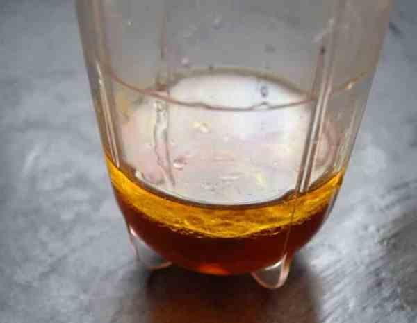 Essig , Öl, und Senf