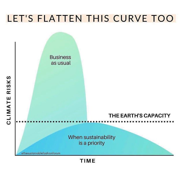 climate risk vs sustainability
