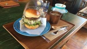 【薪ストーブあり】いつまでもいたくなる!大豊町の鹿肉バーガーとケーキのカフェ「大田口カフェ」